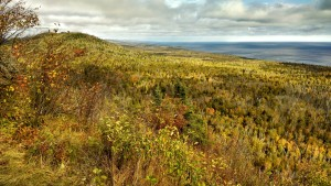 Superior North Shore colors from Mount Oberg.  Photo K. Chapman